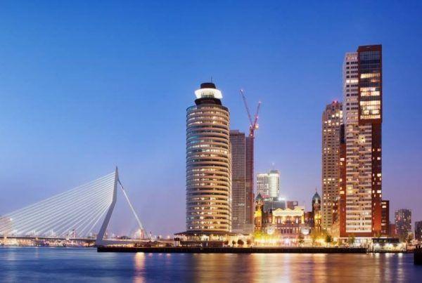 Opblaasbare tent Rotterdam